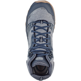 Keen Terradora WP Mid Shoes Damen blue nights/blue mirage